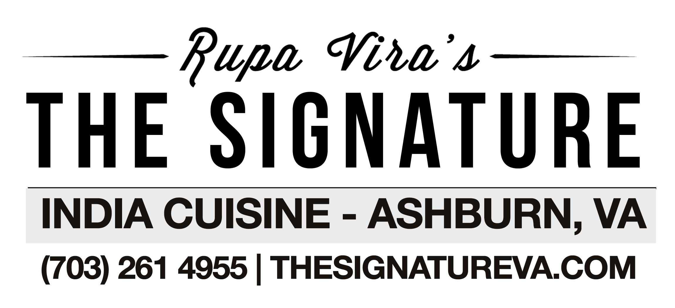 Rupa Vira's The Signature
